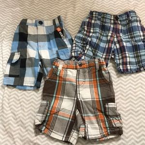 Bundle of Plaid Shorts